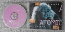 Blondie - Atomic - Original UK 3 TRK CD Single