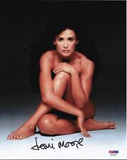 Demi Moore Signed Autographed 8X10 PSA/DNA