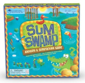Sum Swamp Addition & Subtraction Board Game from Learning Resources   KS1 Maths