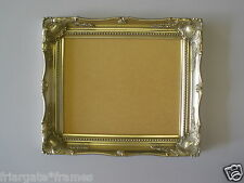 10x8 Silver Shabby Chic Ornate Picture Frame