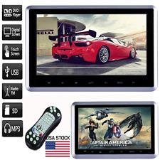 """10.1"""" HDMI Slim Headrest Monitor HD Digital Car DVD Player Portable IR/FM USB/SD"""