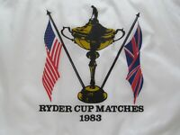 COLORFUL 1983 RYDER CUP FLAG HELD AT PALM BEACH GARDENS, FL