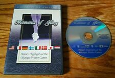 Moments Of Glory: History Highlights of Olympic Winter Games (DVD) OOP RARE