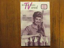 June 26-1966 Lancaster Pa TV Week Magaz(PATRICIA BLAIR/DANIEL BOONE/PETER DEUEL)