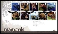 Säugetiere:Wal,Wildkatze,Langohr,Maus,Hufeisennase,Iltis.FDC-Brief(1).GB 2010