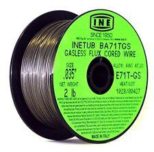 INETUB BA71TGS .035in on 2lb Spool Carbon Steel Gasless Flux Cored Welding Wire