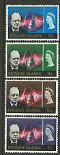 PITCAIRN IS 1966 SIR WINSTON CHURCHILL 4v MINT