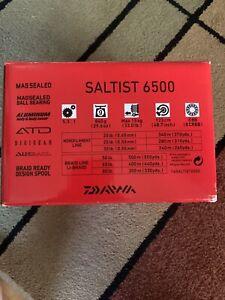 Daiwa Saltist Spinning Reel 5.3 1 Gear Ratio SALTIST6500
