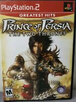 Prince of Persia PS2 Game The Two Thrones PlayStation 2 PS2 Greatest Hits