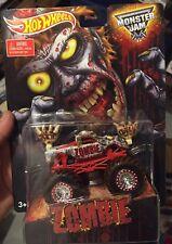 2015 Hot Wheels Monster Jam Zombie Walmart Race Rewards Mail-In Exclusive