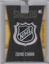 2017 Leaf Superlative Hockey NHL Shields Zdeno Chara Boston Bruins 1/1