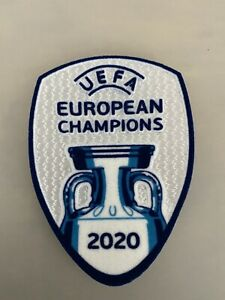 UEFA EURO 2020 Champions jersey patch -  Italy