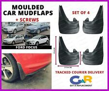 Rubbert Car Mud Flaps Splash guards set of 4 front and rear for Ford Focus