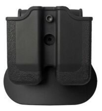 Z2030-MP03 IMI Defense Black Right Hand Double Magazine Pouch for HI-POWER 9/40