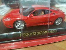 Ferrari 360 Modena Rossa - Scala 1:43 - DeAgostini - Nuova