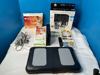 Nintendo Wii (RVL- 001) Fit Active Sports Pack and 5 Games Bundle