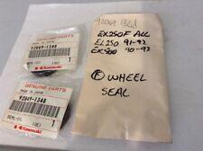 2 PACK KAWASAKI FRONT WHEEL SEALS 92049-1348 EX250F ALL, EX500 90-93, EL250