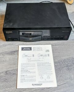 Pioneer PD-S801 CD Player Compact Disc Made in Japan manual No Remote SPARES