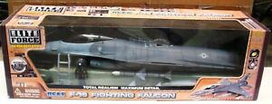Lockheed F-16 Fighting Falcon Wolfpack BBI 1:18 Scale Elite Force New in Box