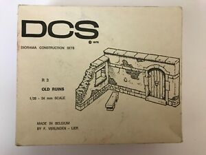 Vintage DCS Diorama Construction Set 1/35 Scale - Old Ruins (R3)