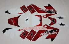 3M Star Emblems Decals Graphics For Honda CRF50 Pit bikes Thumpstar SDG SSR DHZ