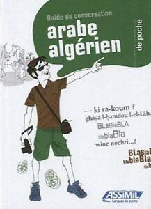 GUIDES DE CONVERSATION ; arabe algérien de poche