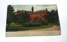 Antique Postcard Undivided Back Library Art Building State University Lincoln Ne
