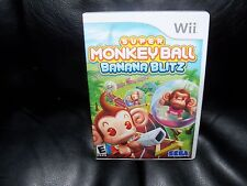 Super Monkey Ball: Banana Blitz  (Wii, 2006) EUC