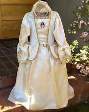 DISNEY PIRATES CARIBBEAN ELIZABETH SWANN SWAN WEDDING DRESS COSTUME GIRL S 5 6 7