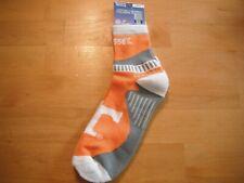 "Tennessee University Sport Socks Tennessee Orange - Size Large ""New"""