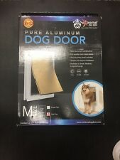 Extreme Performance Locking Rugged Aluminum Dog Doors For Exterior Doors Medium