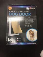 Extreme Performance Locking Rugged Aluminum Dog Doors For Exterior Doors Medium