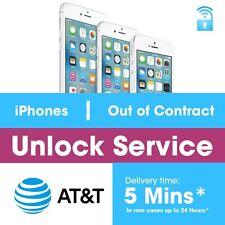 FACTORY UNLOCK PREMIUM SERVICE SPEED ATT IPHONE 6S+plus 7 6+plus 6 5 5S 5C 4 4S