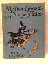 L Edna Walter / Charles Folkard - Mother Gooses Nursery Tales - 1st/1st 1923