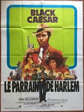 Poster Godfather Of Harlem Black Caesar Fred Williamson Blaxploitation