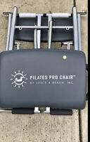 Pilates PRO CHAIR Exercise Workout Abs Bench Gym GUC
