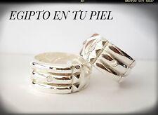 925 Sterling silver Atlantis Ring Anillo del Atlante Geometria sagrada Sello