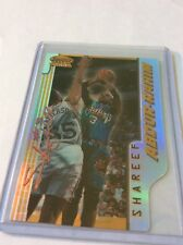 1996/7 Bowman's Best Picks  Refractor Abdur-rahim Shareef #BP7