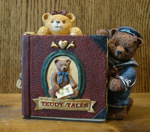 """FIGI #CKH-AT-201 ANTIQUE TEDDY HINGED CLOCK, NEW/Box From Retail Store, 5.75"""""""