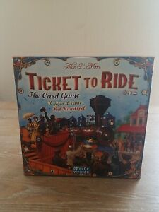 Ticket to Ride The Card Game Days of Wonder Rare Out of Print