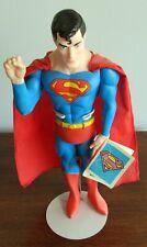 SUPERMAN SUPERBE OBJET PLASTIQUE SOCLE EN METAL TRES BON ETAT