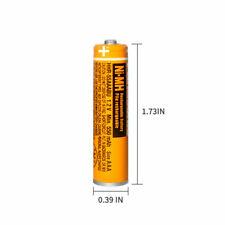 4P Panasonic Batteries 550mAh NI-MH Rechargeable HHR-55AAABU 1.2V AAA For Home