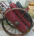 Antique General Fire Extinguisher Corporation Large Wheels with Hose