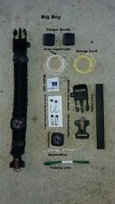 Paracord Survival Bracelet Big Boy edc camping hiking