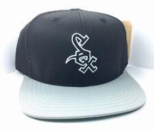 CHICAGO WHITE SOX HAT MAJOR LEAGUE BASEBALL CAP FLAT BILL SNAPBACK