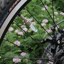 EP lumière led néon vélo pneu roue gaz Nozzle valve core glow stick 2pcs