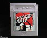 James Bond 007 [NEW BATTERY Nintendo Game Boy Spy Action Adventure M16 Questing