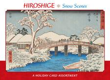 Hiroshige Snow Scenes Xmas Cards Box 20