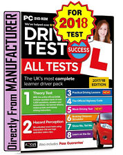 Driving Theory Test & Hazard Test CAR. PC DVD CD ROM NEW 2018*ATpc