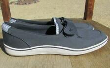 Grasshoppers Womens sz 7N Navy Blue Comfort Loafers Shoes Slipon Purefit Cushion